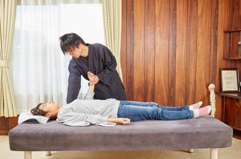 肩関節周囲炎を調整します